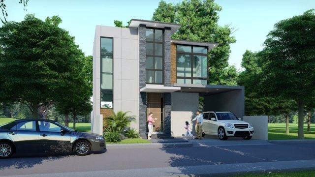 Pallas Athena Executive Brand New Modern House For Sale